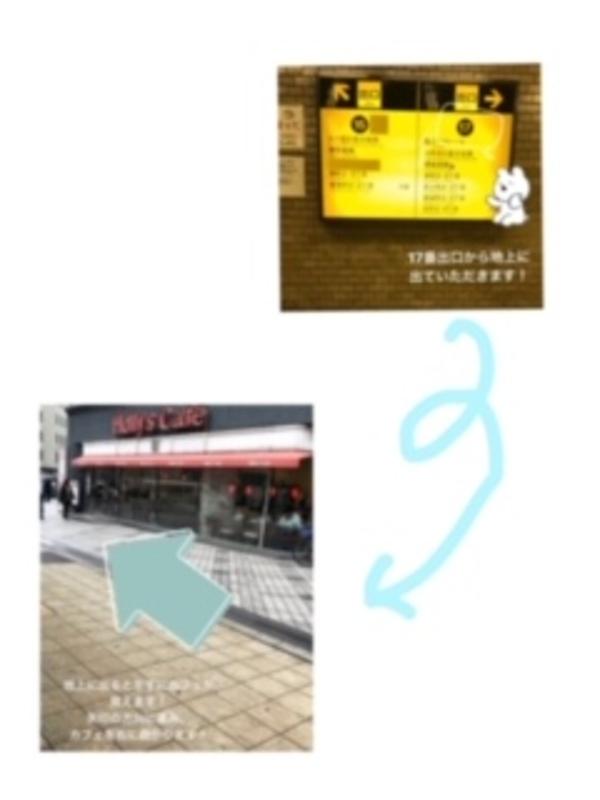 堺筋線本町駅からのアクセス